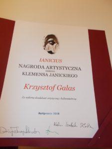 Dyplom Krzysia