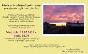 zaproszenie Ławeczka